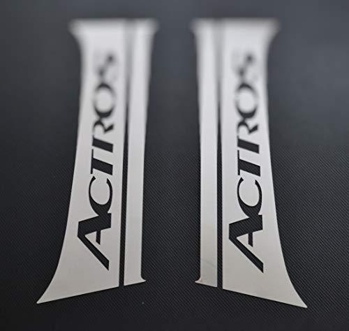 24/7 Auto Chrom hochglanzpoliert Türsäulen für Actros LKW MP4 Edelstahl Dekoration