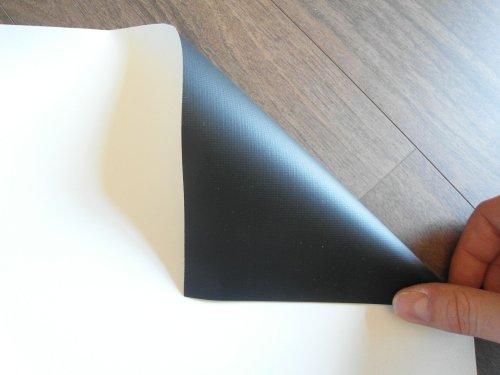 Linnen doek per meter, canvasstof 5,67m x 2,43m; Canvas voor beamer