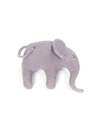 Smallstuff - Kuscheltier, Stofftier, Häkeltier - Elefant - blau, rosa - 19 x 22 cm
