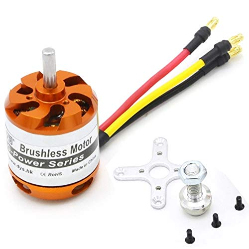 HONGYI D3542 1450KV 1250KV 1000KV Brushless Multicopter Outrunner Motor for Mini Multicopters RC Flugzeug Hubschrauber Drone Zubehör (Color : D3542 1450KV)