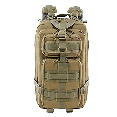 LHI Tactical Backpack Upgrade 30L 900D Military Day Pack for Hiking Trekking Hunting K