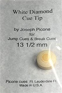 white diamond pool cue tips