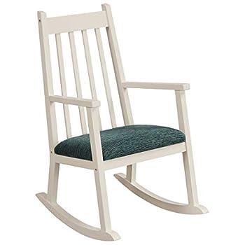 Costzon Child s Rocking Chair Wooden Porch Rocker w/Cushion 120 lbs Weight Capacity Ergonomic Kids Rocker for Toddler Boys Girls Classic Rocker for Kids Room Kindergarten Porch Indoor Outdoor
