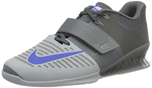 Nike Men's Romaleos 3 Training Shoe Black/Black-Black-Hyper Crimson 14.0