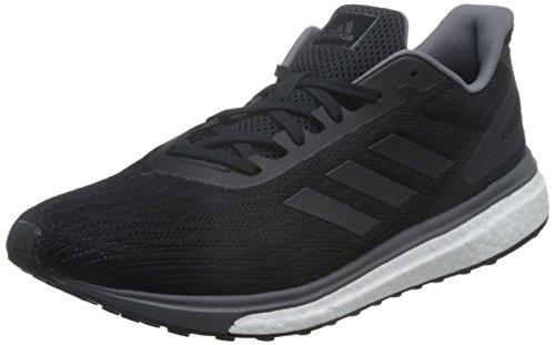 adidas Response Lt M, Zapatillas de Running Hombre, Negro (Negbas/Nocmét/Gricin), 40 EU