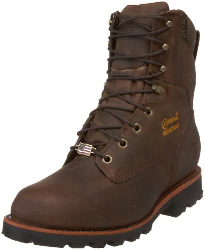 Chippewa Men s 29416 8 Waterproof Insulated Work Boot Bay Crazy Horse 14 E US product image