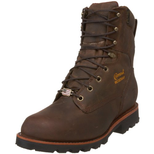 9aecb399048 Chippewa Men's 29416 8″ Waterproof Insulated Work Boot,Bay Crazy ...