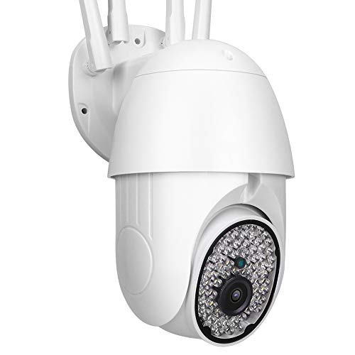 1080P WIFI Surveillance Camera, Infrared Night Remote Surveillance Security Camera, Outdoor Waterproof Camera, Support Two-way Intercom, Motion Detection (US)