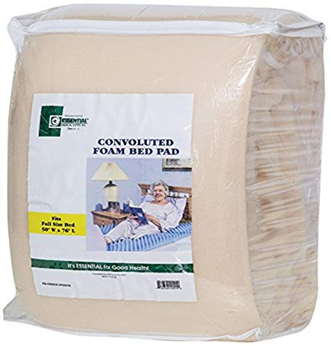 Essential Medical Supply Convoluted Bed Pad, Full Size, 3 Inch