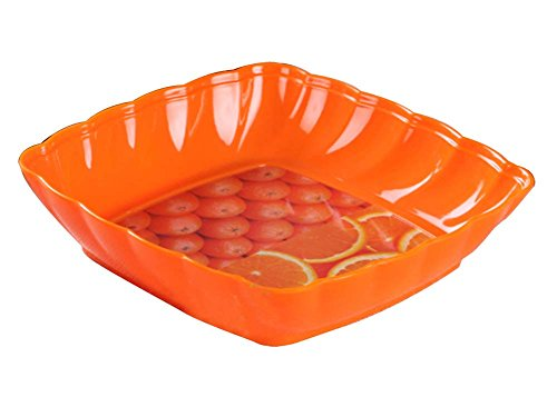Dragon Troops Lovely Orange Pattern Fruit/Candy Dishes Saucer Tray Small Plates
