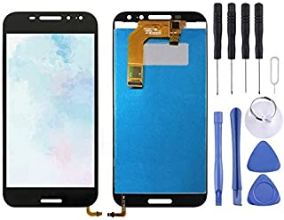 ANQ Replacement Replacement LCD Screen and Digitizer Full Assembly for Vodafone Smart N8 VFD610(Black) (Color : White)