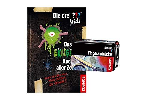 Die DREI ??? Kids, Das ekligste Buch Aller Zeiten + Forscherkästchen , Hast du den Mut die Seiten zu öffnen?