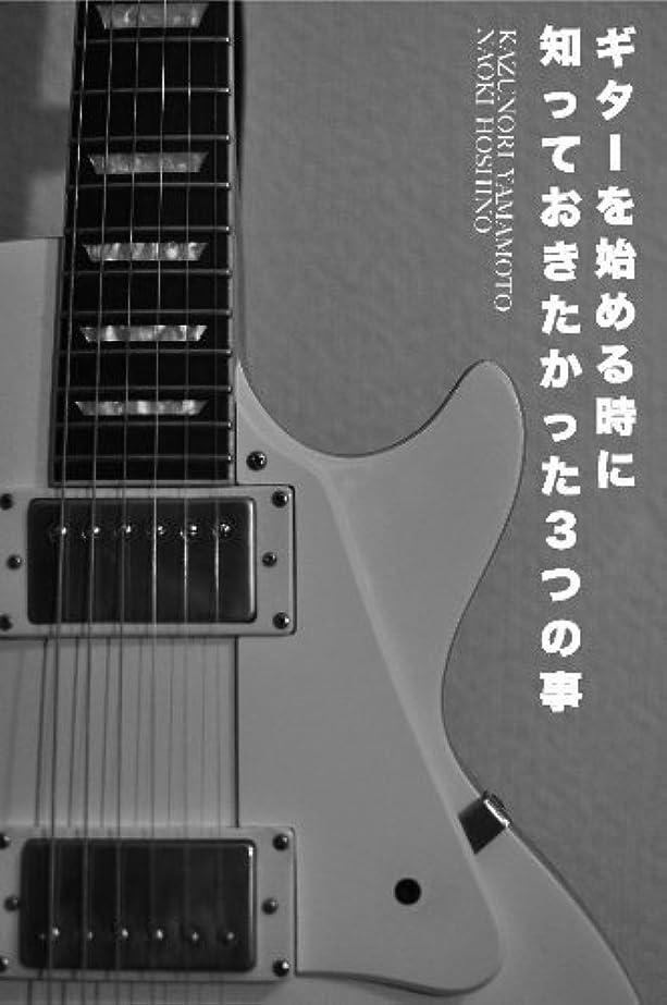 評議会二度ブローホールギターを始める時に知っておきたかった3つの事