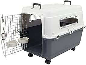 Chesapeake Bay Heavy-Duty Rolling Airline Pet Crate-Large