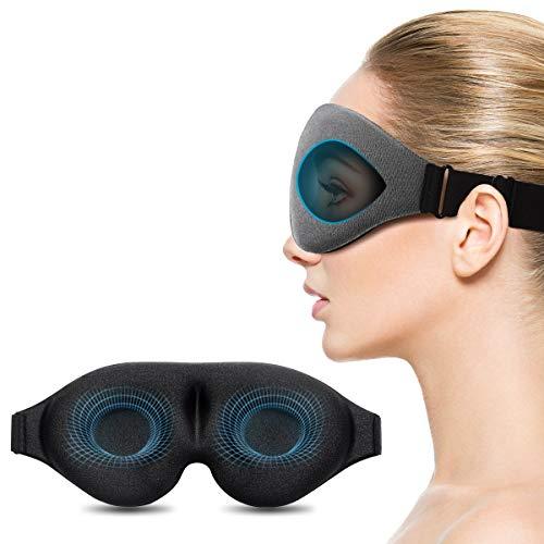 Máscara para dormir, Máscara para ojos con copa contorneada Unimi Upgrade 3D,...