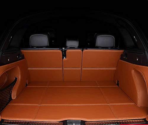 \\t Auto Kofferraummatten Boot Liner Mat FüR Mini Countryman Cooper F54 F55 F56 F60 R60, Obere Und Untere Schicht, Schwarz, Spart Autowaschkosten, Beste Wahl FüR Haushalts-SchräGheck