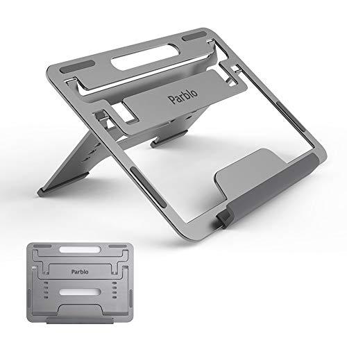 Parblo Tablet Ständer, PR 110 Universal Grafiktabletts Zeichentabletten Ständer - Einstellbar für 10,1-15,6 Zoll Grafikmonitor, Tablets, Laptops, tragbar und leicht