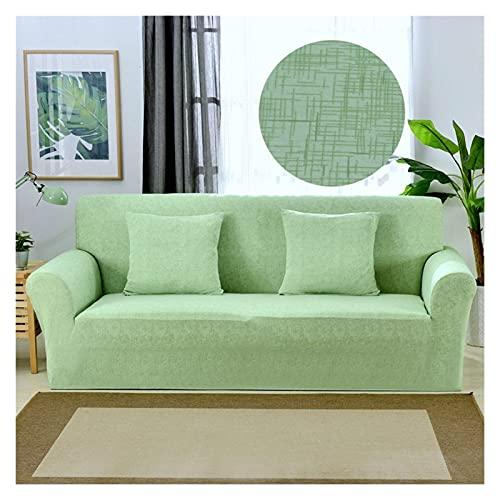 Rowe Linea Stampa Geometrica Elastico Sofa Cover Spandex Moderna Poliestere d'angolo del sofà Fodera for Soggiorno 1/2/3/4 posti (Color : Model 5, 规格 : 1 Seat (90 140cm))