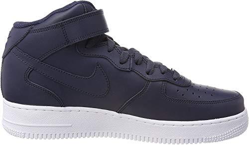 Nike Herren Air Force 1 Mid '07 315123-415 Hohe Sneaker, Mehrfarbig Blue 001, 42.5 EU