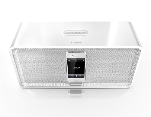 sonoro Stereo iPod/iPhone Docking Station cuboDock weiß