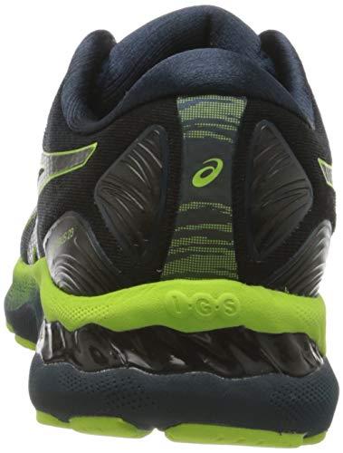 ASICS Men's Gel-Nimbus 23 Road Running Shoe, French Blue Lite Show, 9.5 UK