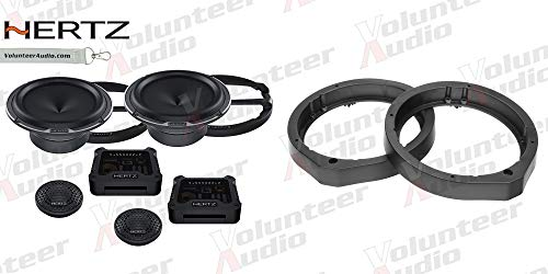 Sale!! Hertz MLK165.3 6.5 Speaker Package with 1 Pair of Speakers and Adapters