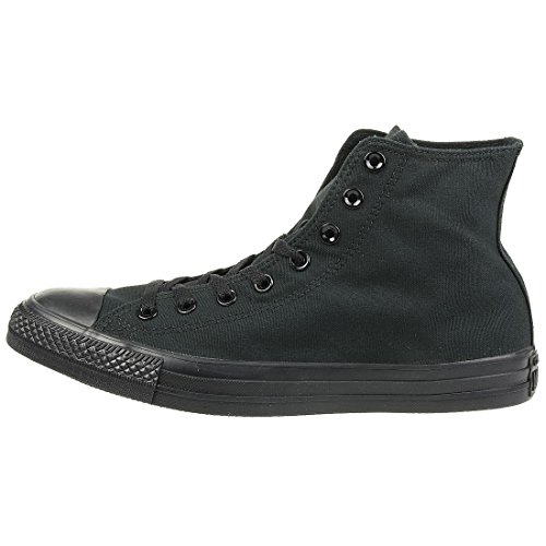 Converse Converse All Star Hi Canvas Monochrom Schwarze Sneakers-UK 7