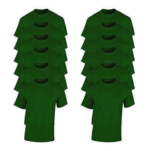 Gildan - Maglietta in Cotone - Unisex - Bambini (XS) (Azalea)