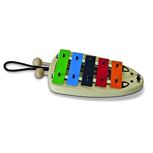 SONOR 29730501 Glockenspiel Mini Maus MiMa, 5 Töne, G-Dur