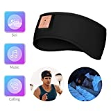Bluetooth Sleep Headphones DALUZ Sports Headband Wireless with Ultra-Thin HD Stereo Speakers Features Calling, Music, Siri Suitable for Sleeping, Sports, Travel, Insomnia etc.