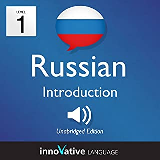 『Learn Russian - Level 1: Introduction to Russian, Volume 1: Lessons 1-25』のカバーアート
