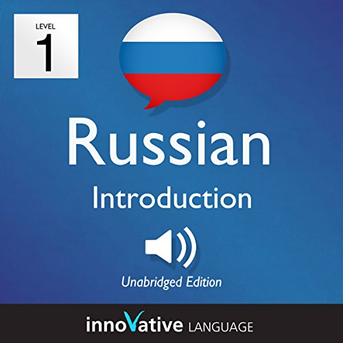 Learn Russian - Level 1: Introduction to Russian, Volume 1: Lessons 1-25 audiobook cover art