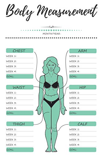 Compare Textbook Prices for Weekly Body Measurements Tracker: Body Progress Record Journal and Monitoring Logbook to Track your Weekly Weight Loss Measurement Notebook for Women & Men Note for Aim  ISBN 9798735165613 by Moni publishing