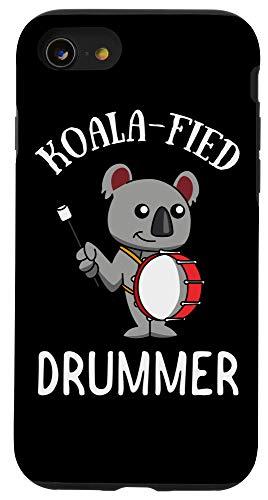 iPhone SE (2020) / 7 / 8 Marching Band Gift | Koala Koalafied Drummer Bass Drum Case