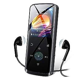 top 10 budget mp3 players RUIZU MP3 player, improved Bluetooth 5.0 MP3 player, 8GB lossless portable hi-fi sound …