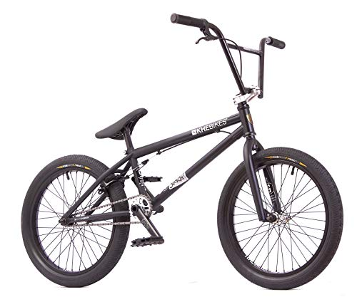 KHE - Bicicletta BMX Silencer LT, 20 pollici, brevettata Affix a 360°, solo 9,9 kg, colore: Nero