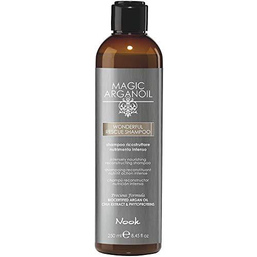 Nook Shampoo ricostruttore Magic ArganOil WONDERFUL RESCUE 250 ml