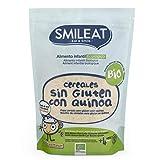 Papilla de cereales Sin Gluten con Quinoa Eco Smileat 200 g