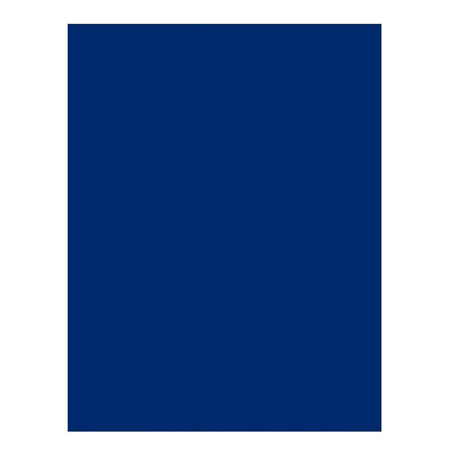 CAMPUS University 630507?–?Card Stock, 200?g, Pack of 25, 50?x 65?cm, ultramarine blue