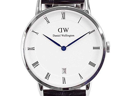 ダニエル ウェリントン ダッパー リーディング/シルバー 34mm 腕時計 DW00100117 [並行輸入品]