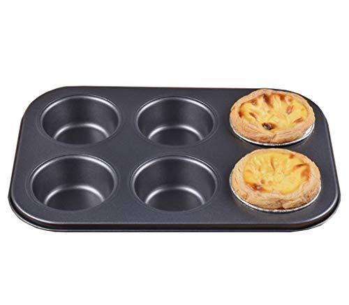 ACMEDE Mini Moule à Gâteau pour 6 Cupcakes/Tartelettes/Canapé, antiadhésifs, taille: 26 * 18.5cm