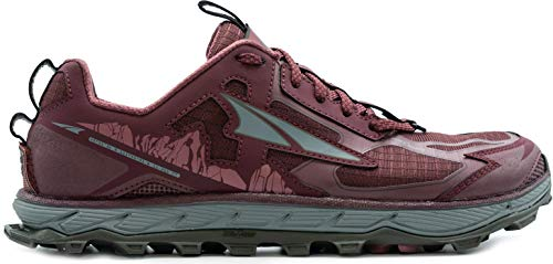 ALTRA Women's AL0A4QTX Lone Peak 4.5 Trail Running Shoe, Dark Port - 8 M US