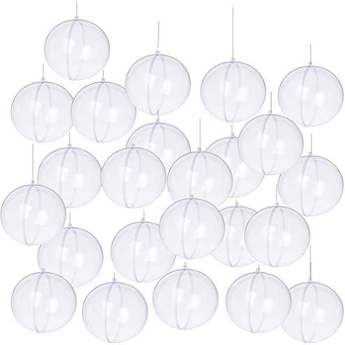 Clear hollow plastic balls _image1