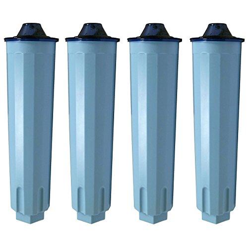 4 Wasserfilter Filterpatronen für Claris blue Jura ENA Kaffeevollautomaten geeignet
