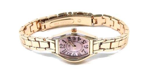 [フィールドワーク] 腕時計 フィールドワーク ルタ アナログ メタルバンド FSC019E ピンクゴールド