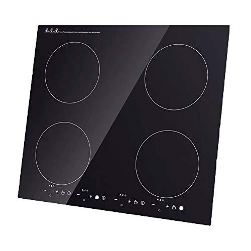 Placa de inducción integrada portátil de la encimera de la Multi-cabeza de la cocina de inducción 4 x 2000 W