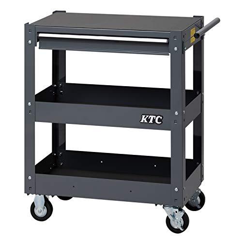京都機械工具(KTC) ツールワゴン 3段1引出し グレー SKX2613GY (2020-21 SK品)