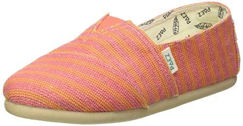 Paez Damen Classic Gum Stripes Espadrilles, Pink (Pink 036), 34 EU