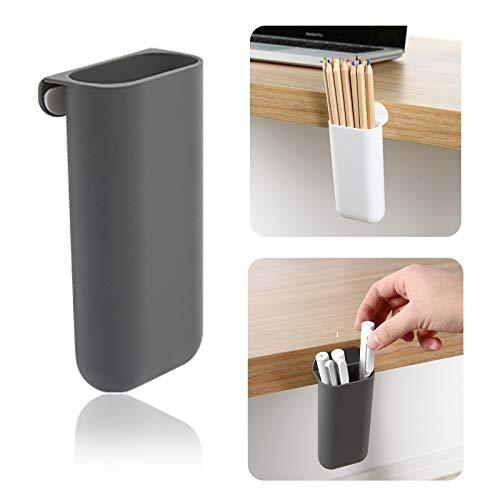 Wall Mount Organizer Storage Box, Desk Pen Pencil Holder for Cabinets, Desks, Workspaces - Holds...