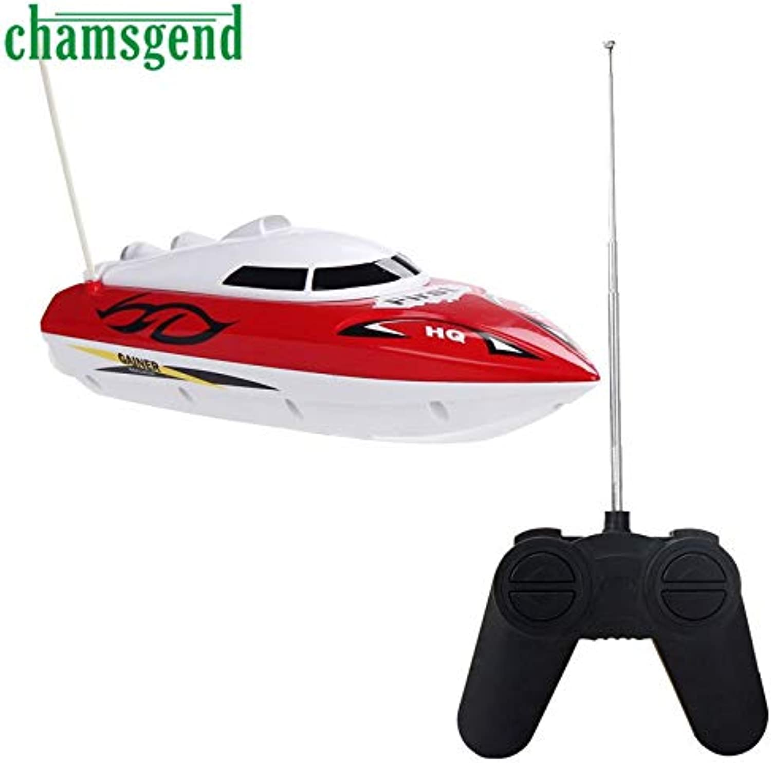 Generic Chamsgend Hot 10 inch RC Boat Radio Remote Control RTR Electric Dual Motor Toy SEP 04